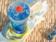 Blue summer cocktail Desktop Wallpaper