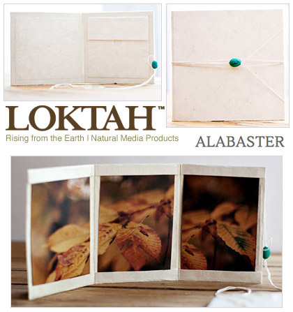 Loktah Alabaster CD DVD photofolio