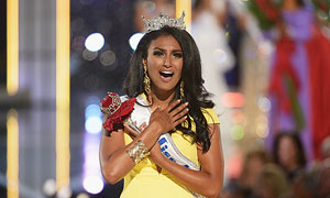 Nina Davuluri brushes off racist criticism after Miss America victory