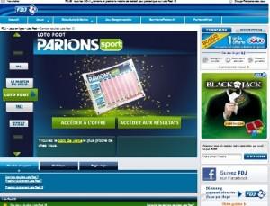 ParionsSport 300x229 Consulter les derniers résultats loto foot