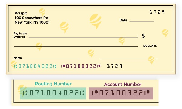 Where can I find my routing and account number?