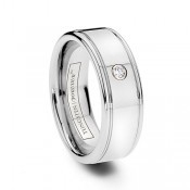 Tungsten Diamond Rings