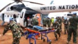 The UN Mission in South Sudan helped to medevac hundreds of wounded from Manyabol to Bor, the capital of Jonglei state, on  July 14.