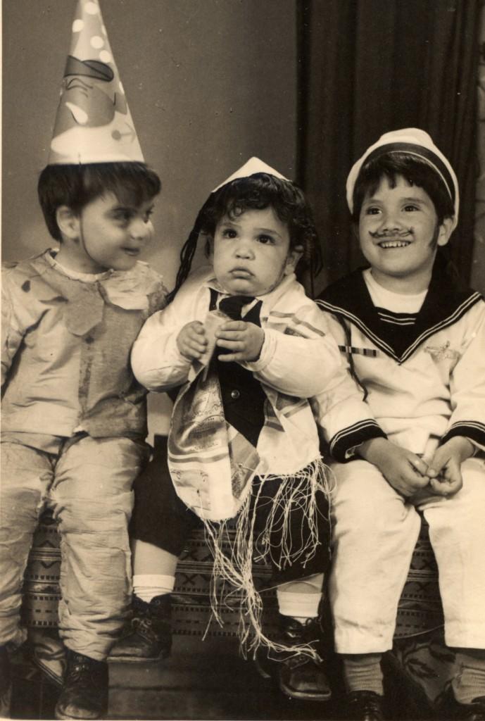 ליצן מלח ודתי - אמצע שנות השבעים