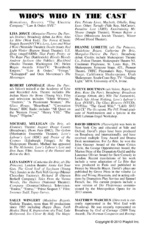 Inside the Playbill - La Bête - Matthew Warchus