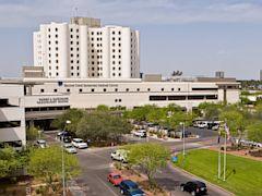 PHOTO:  A view of Banner Good Samaritan Medical Center in Phoenix.