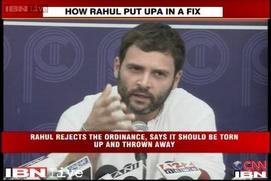 Watch:Ajay Maken U-turn on ordinance after Rahul's remark