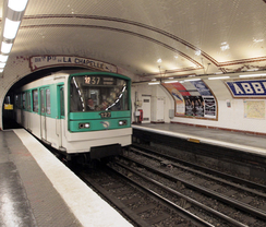 The Paris metro stations © Jacques Demarthon / AFP