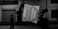 See Unbelievable 3-D Visuals Performed Live With Robots and Projectors