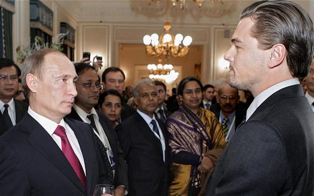 Vladimir Putin: Leonardo DiCaprio is a 'real man'