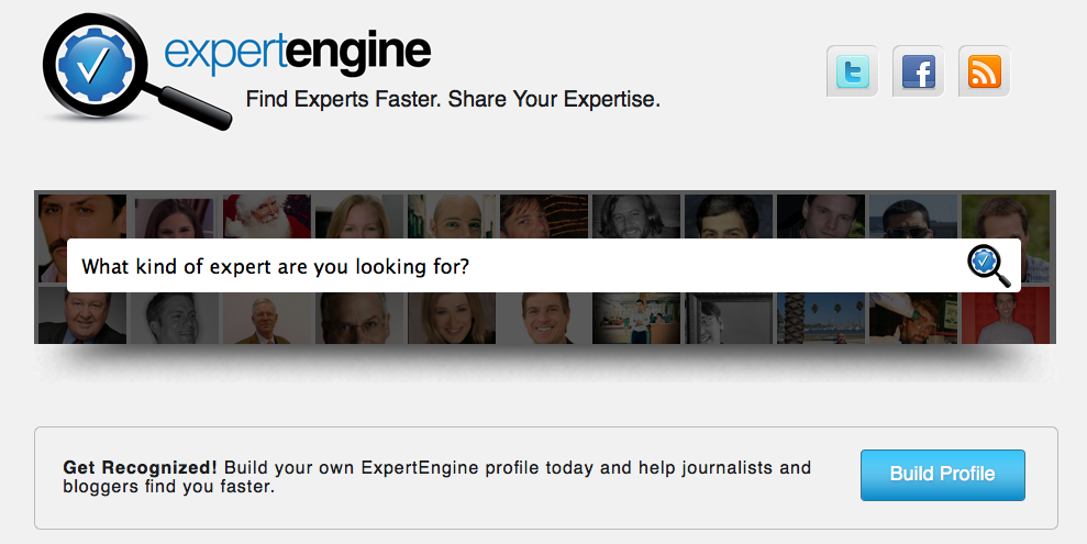 search for experts