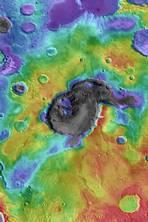 Giant Supervolcanoes found on Mars