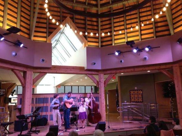 WVTF presents concert with youth bluegrass band