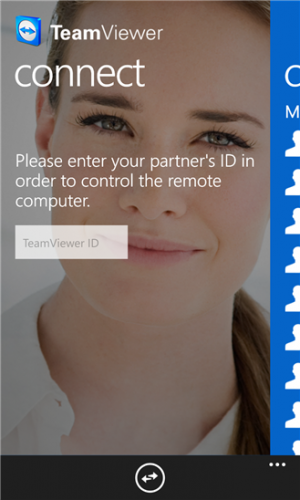 Team Viewer Windows Phone