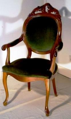 willem III stoel oude bekleding