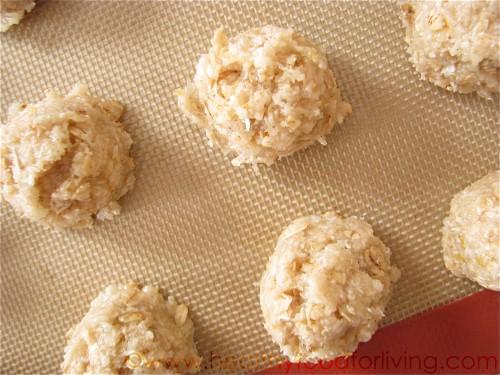 Lemon Coconut-Oat Macaroons