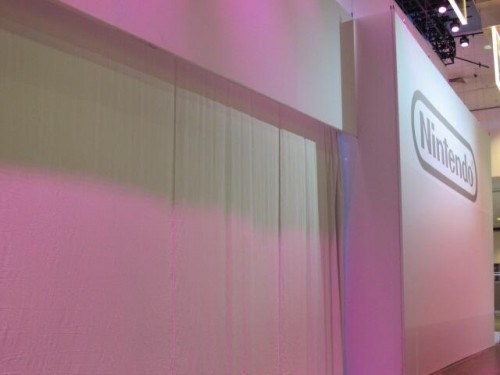 Nintendo shows its booth at E3