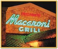 Macaroni Grill Menu