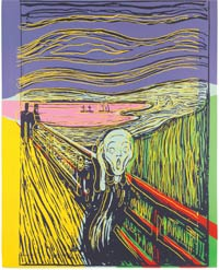 Andy Warhol's 'The Scream'