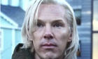 Benedict Cumberbatch as Jullian Assange in The Fifth Estate