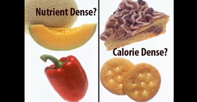 Nutrient-dense foods are high in nutrients but relatively low in calories. Older adults should eat a mix of nutrient-dense foods every day.