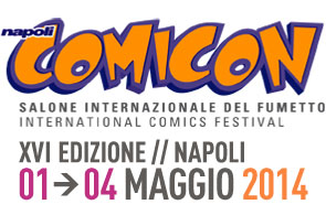 Napoli COMICON Salone internazionale del fumetto - International comics festival