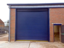100mm insulated door