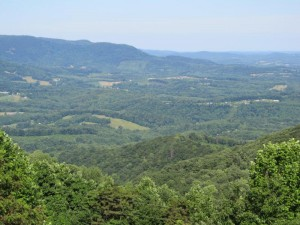 Buy Blue Ridge Parkway land with a view