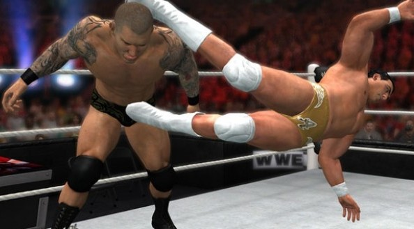 Screenshot from WWE 12 (Credit: THQ)