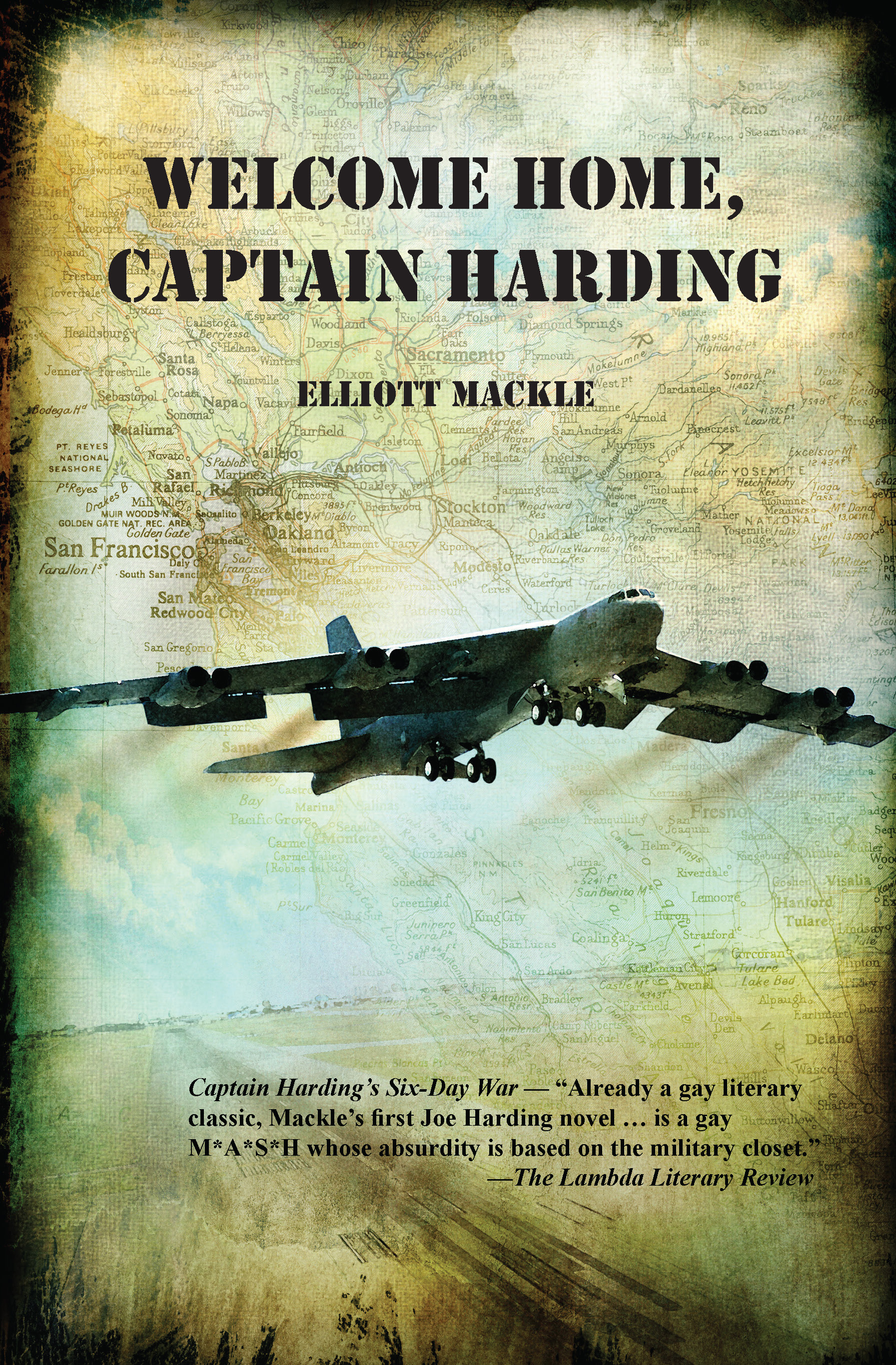 Welcome Home, Captain Harding by Elliot Mackie