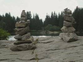 Stones at Lac Benit