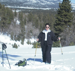 Great trails for snowshoeing are accessible most of the winter in Big Bear Lake