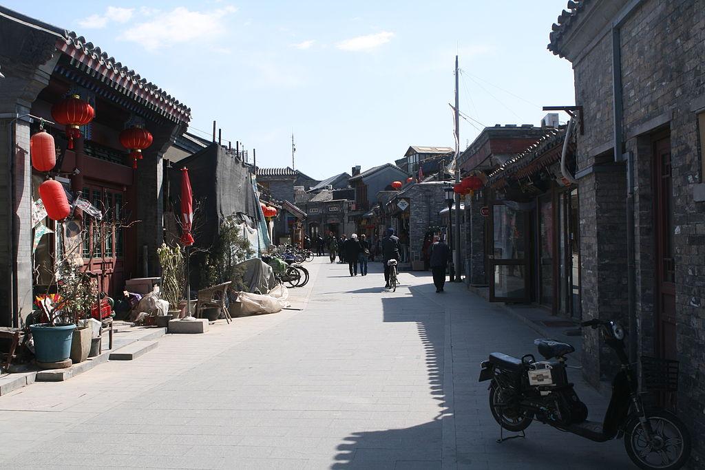 Daerah Hutong Beijing