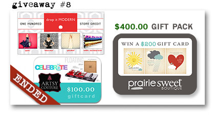 Paperie Boutique Birthday giveaway eight