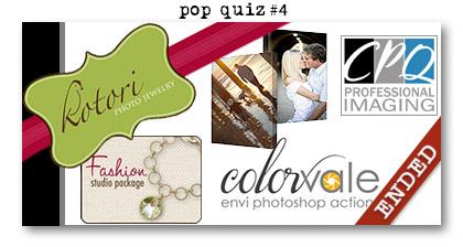 Paperie Boutique Birthday pop quiz four