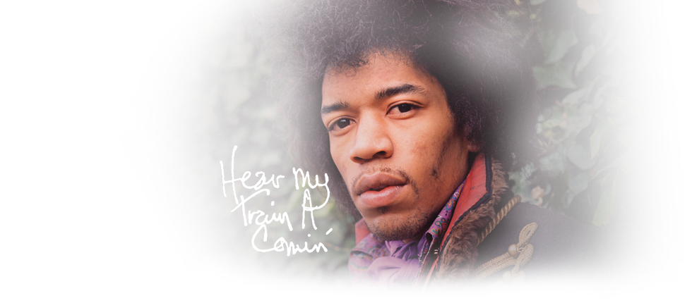 Jimi Hendrix Hear My Train A Comin' on Blu-ray