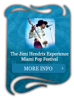 The Jimi Hendrix Experience Miami Pop Festival