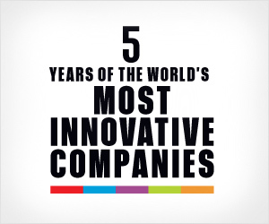 5 Years of The Most Innovative Companies