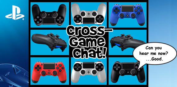 PS4 gamers will be chatting it up across various games soon.