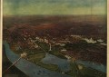 Cool 1916 Bird's-Eye View of Washington