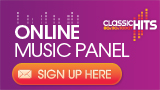 Footer Online Music Panel