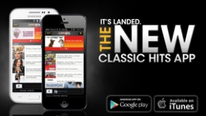 The NEW Classic Hits App for iPhone and Android