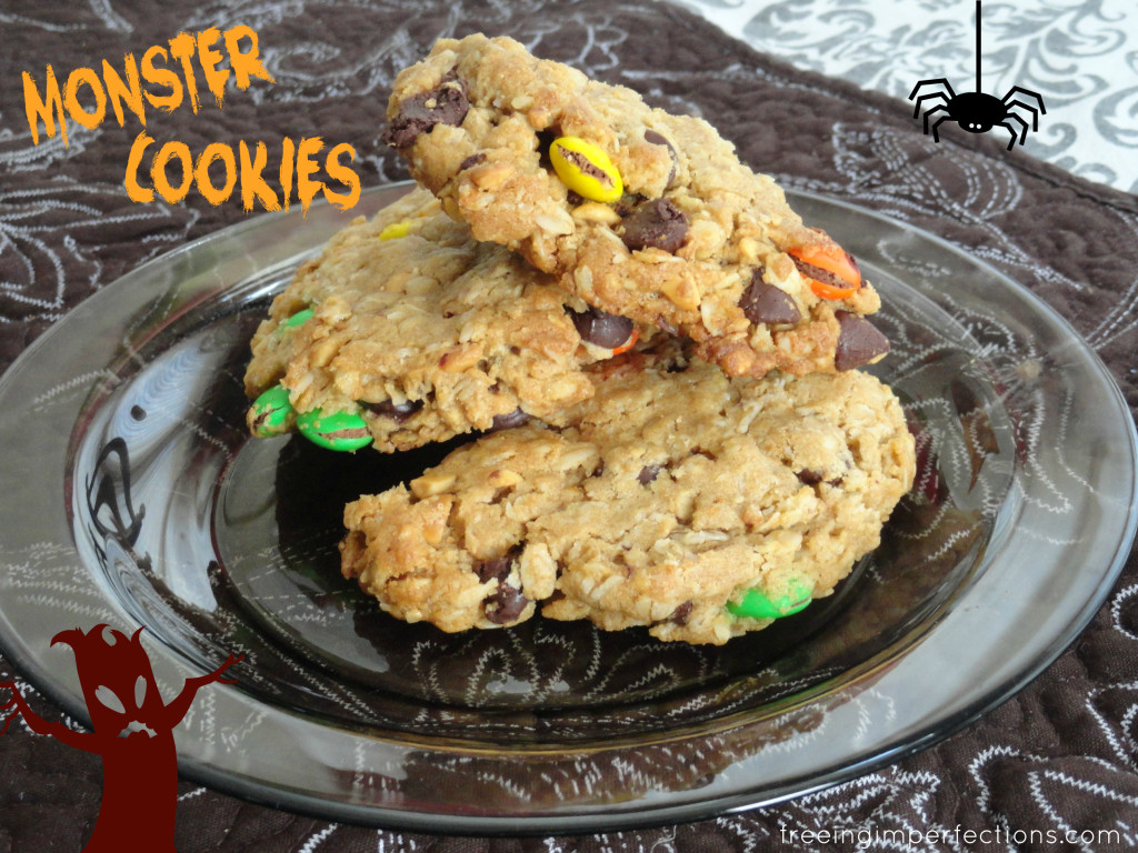 Monster Cookies | Freeing Imperfections