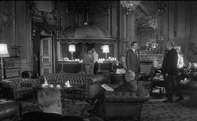 An extremely rare photograph of the interior of the Diogenes Club (circa 1920).