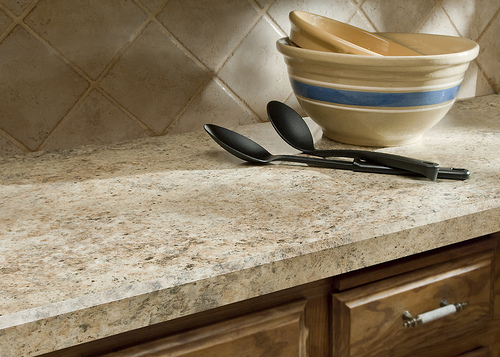 What about some new counter tops?