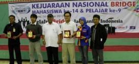 Yes! Telkom University Juara II Beregu Mahasiswi Kejurnas Bridge 2013