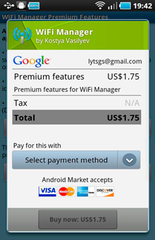 Buy WiFi Manager Premium WiFi Manager