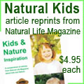 reprints of articles about natural parenting
