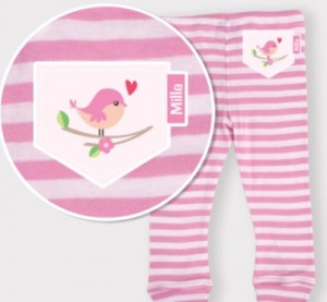 Stuck on You personalised pj pants preview