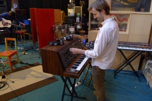 cut copy in the studio, free your mind